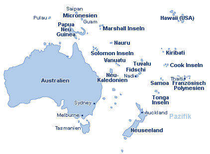 Wallis und Futuna Landkarte